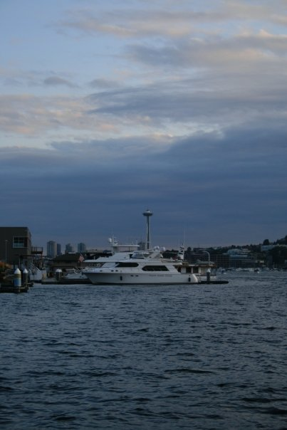 Lazy evenings well spent on the lake. ~East Lake neighborhood - on Lake Union in Seattle, Washington~