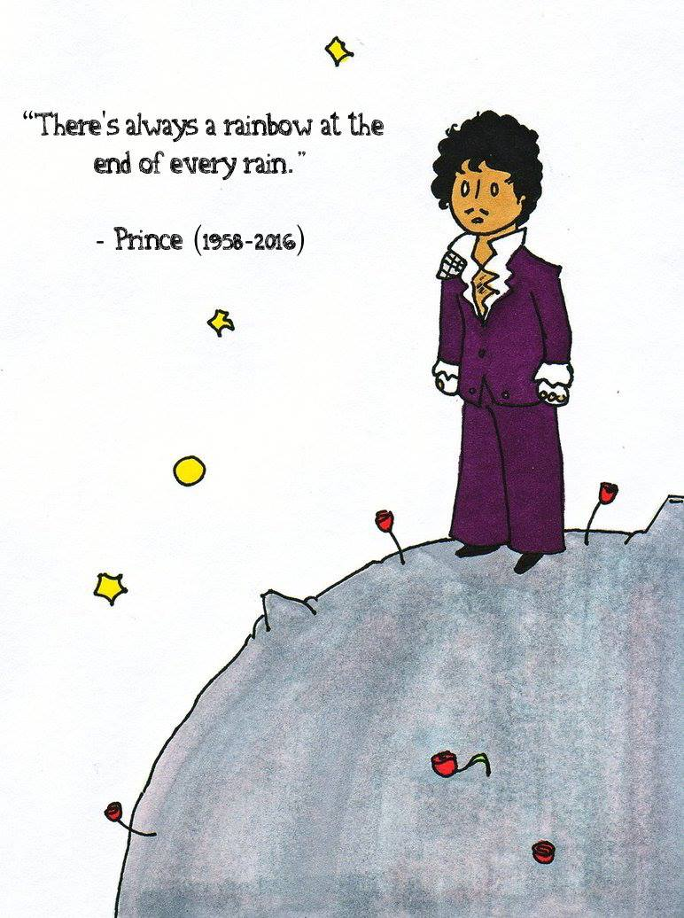 Goodbye, Prince 💔 ~Reading Rainbow~ April 21, 2016 *courtesy of their Facebook page*