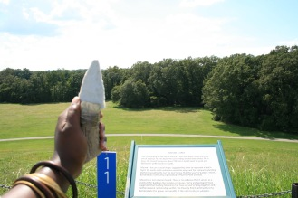 A Spear Point formed into a Formidable Knife.