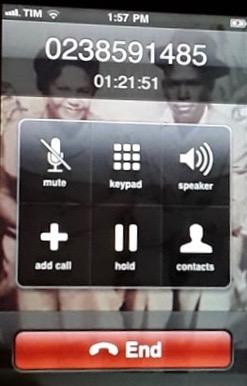 Phone call to Finniar