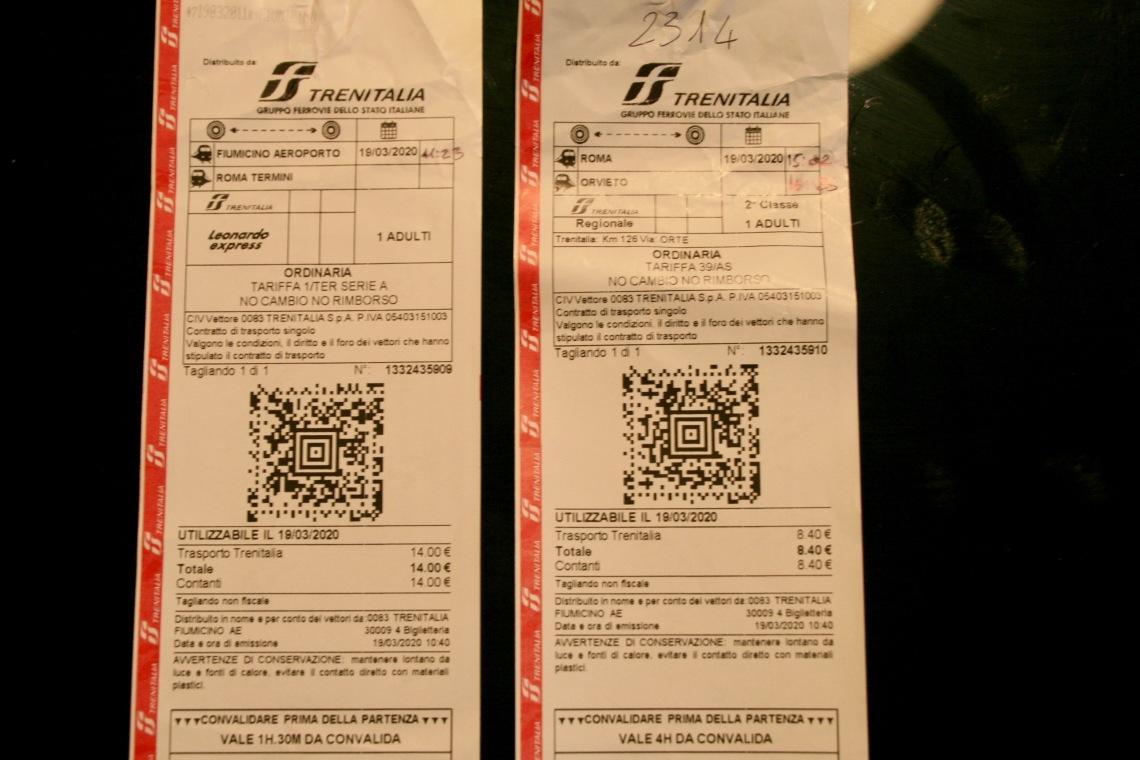 Trenitalia Train Tickets
