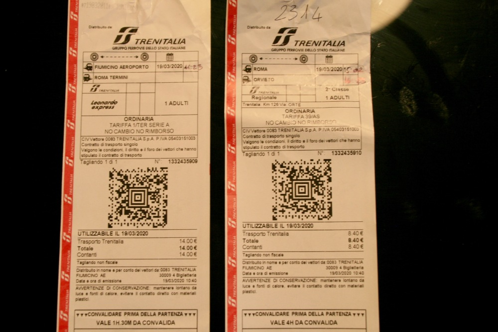 Trenitalia Train Tickets